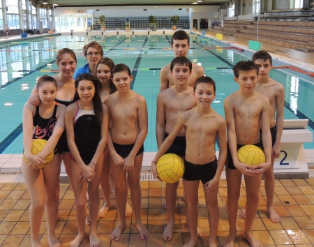 WATER POLO  FEVRIER 2016